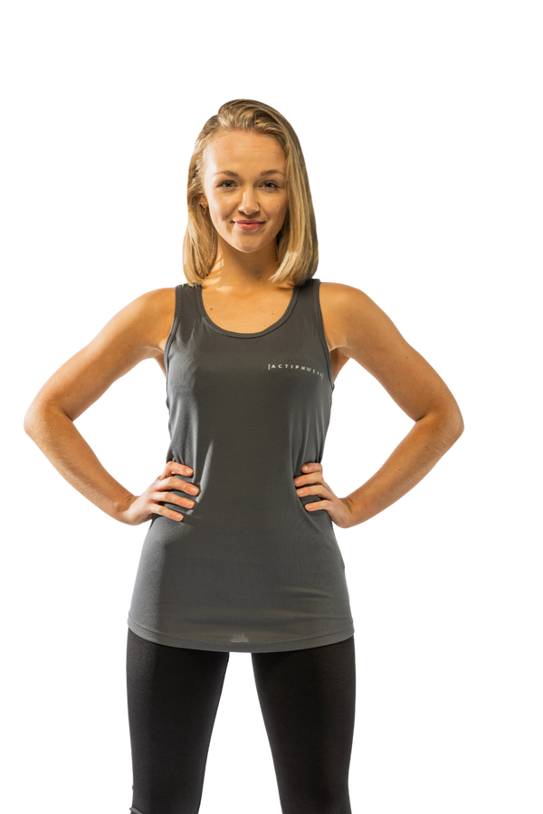 ActiphWear Women's Vest Top - Grey