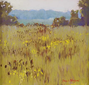 Humidity Pastel Painting by Carol Strock Wasson