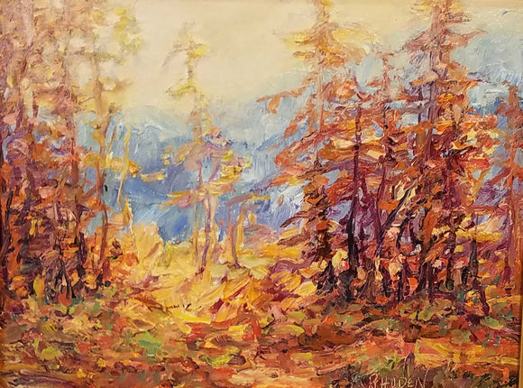 Mountain Array Oil Painting by Patricia Rhoden Bartels