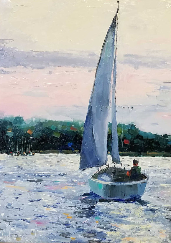Solo Sail Oil by Jodie Friend
