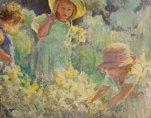 Spring Blessings Oil Painting by Wayne Campbell