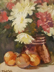Still Life with Copper Oil Painting by Robert Eberle