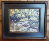 "Painting: Sunlit Memories Artist: Thomas A. Himsel Medium: Oil   Size: 11"" x 14"" Framed 18"" x 21"