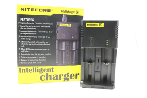 Nitecore i2 Intellicharger 2 bay