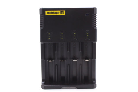 Nitecore i4 Intellicharger 4 bay