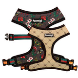 May Flowers Reversible Harness by Pawmigo