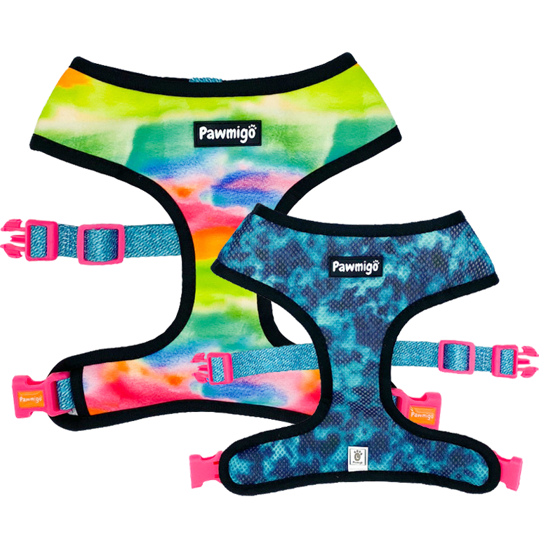Tie-Dye For Reversible Harness