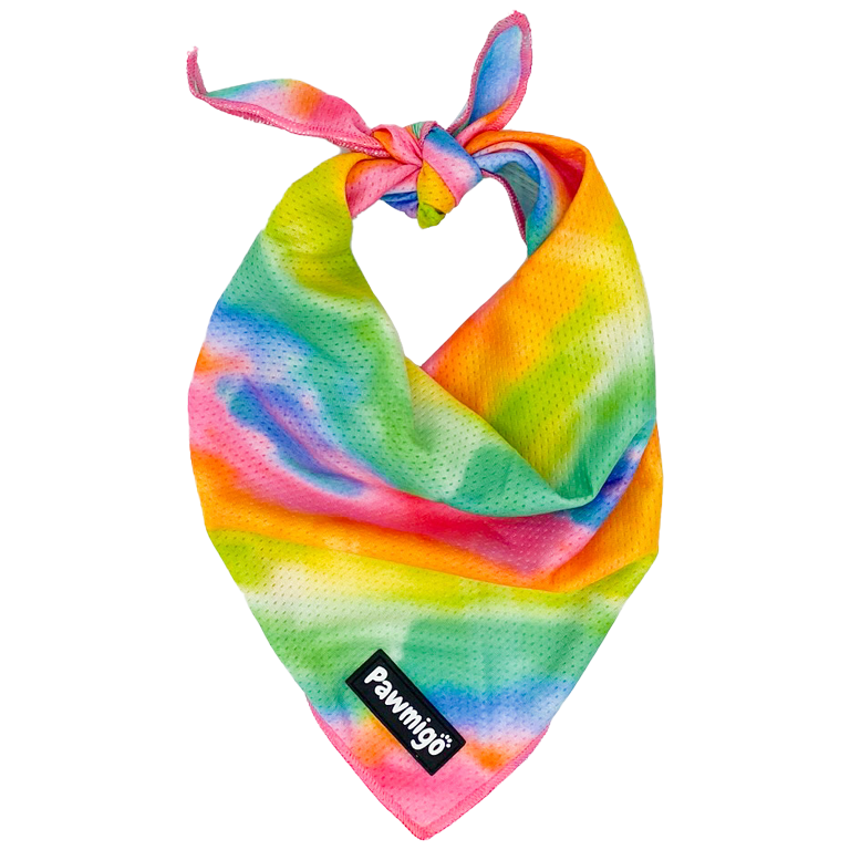 Tie-Dye For Cooling Bandana