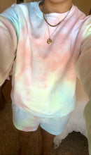Load image into Gallery viewer, Multi-color Tie Dye Sweat Set (only 1 available)