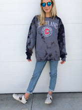 Load image into Gallery viewer, Tie Dye Cleveland Sweatshirt - Navy