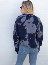 Load image into Gallery viewer, Tie Dye Sweatshirt - Navy