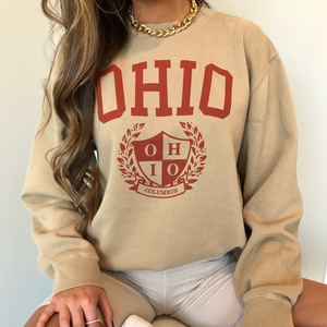 Old School Ohio Crew - Beige