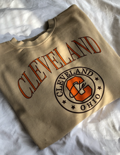 Load image into Gallery viewer, Cleveland Crewneck - Beige