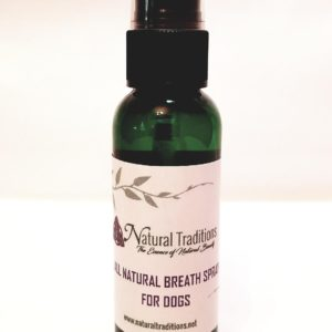 Natural Breath Spray for Dogs