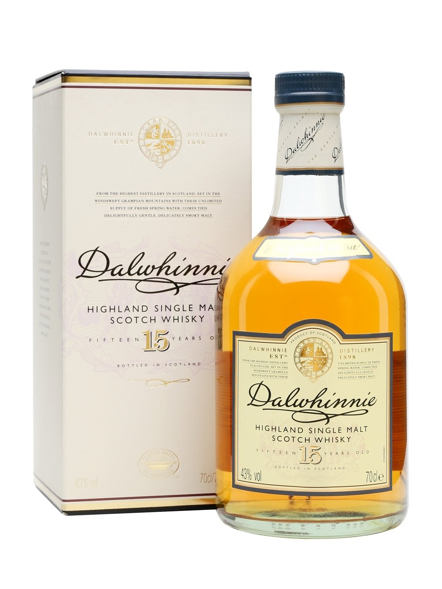 Dalwhinnie 15 Year Old 70cl | 43%