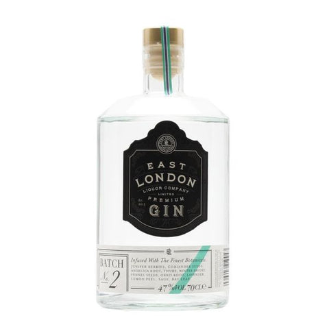 East London Liquor Premium Gin Batch 2 70cl | 47%