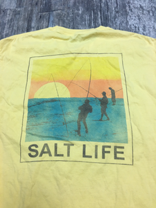 Salt Life Mens T-shirt Size Medium