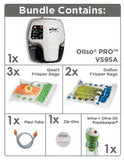 OLISO® PRO™ VS95A (SILVER) SMART VACUUM SEALER STARTER KIT