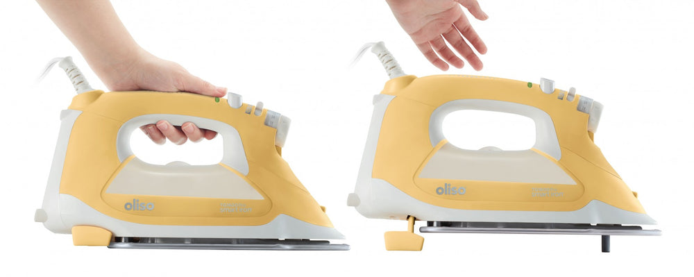 OLISO® PRO™ TG1600 SMART IRON (BUTTERSCOTCH/YELLOW)