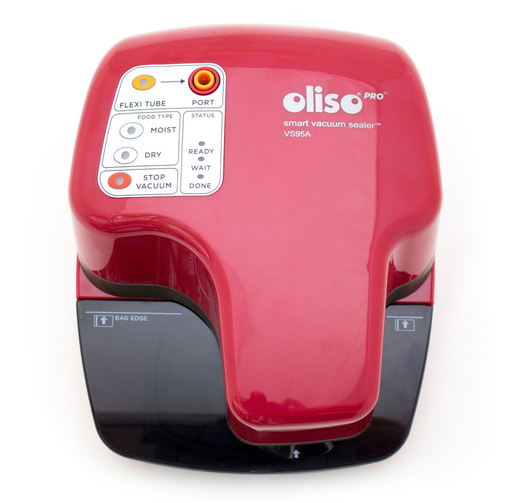 OLISO<sup>®</sup> PRO™ VS95A (RED) SMART VACUUM SEALER STARTER KIT