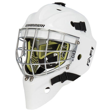 WARRIOR GOALIE MASK R/F1 SENIOR