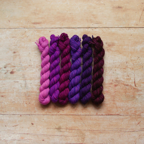 Rainbow Minis Collection :: 6 mini skeins
