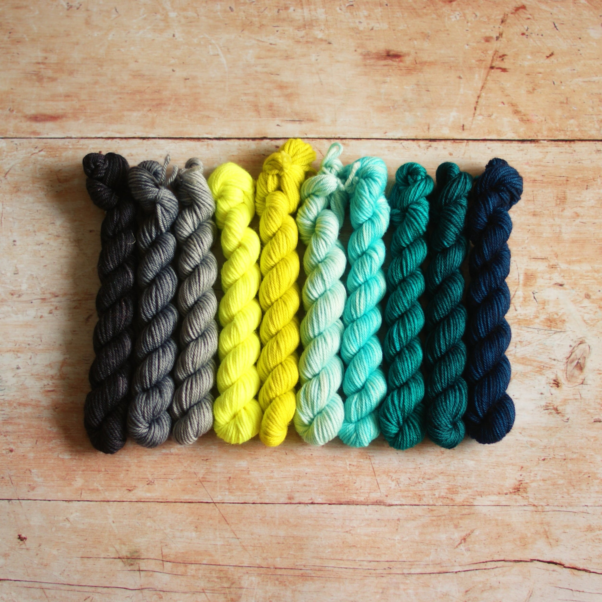 Rainbow Minis Collection :: 10 DK mini skeins