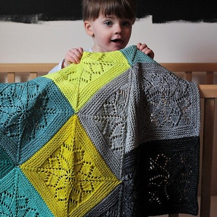 Vivid Blanket Kit by Tin Can Knits