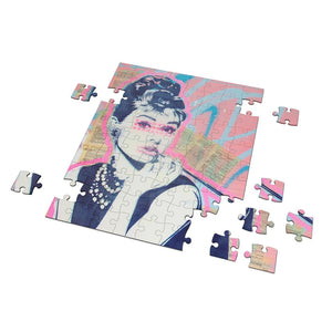 "Audrey ""Brunch at Tiffanys"" Puzzle"