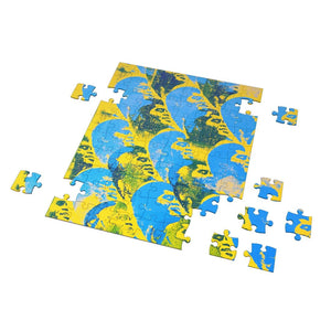"Abstract ""27x James Brown"" Puzzle"