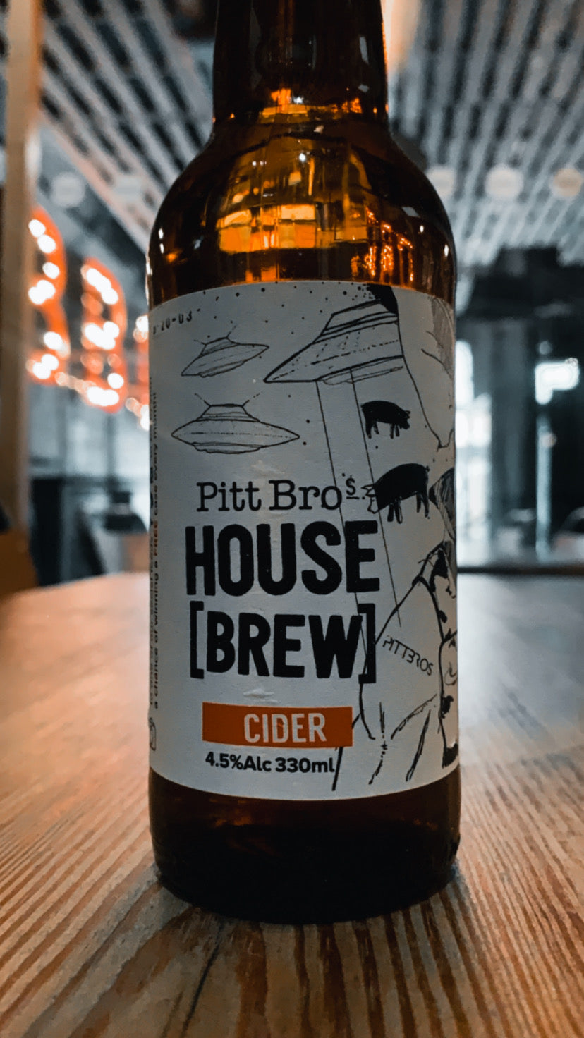 Pitt Bros House Cider @ Home (12 Pack)