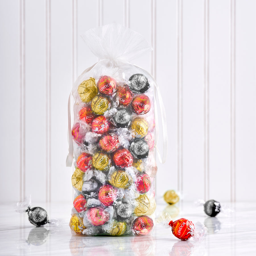 Lindt LINDOR Assorted Truffles (3 flavours), 100 Count 1200g*