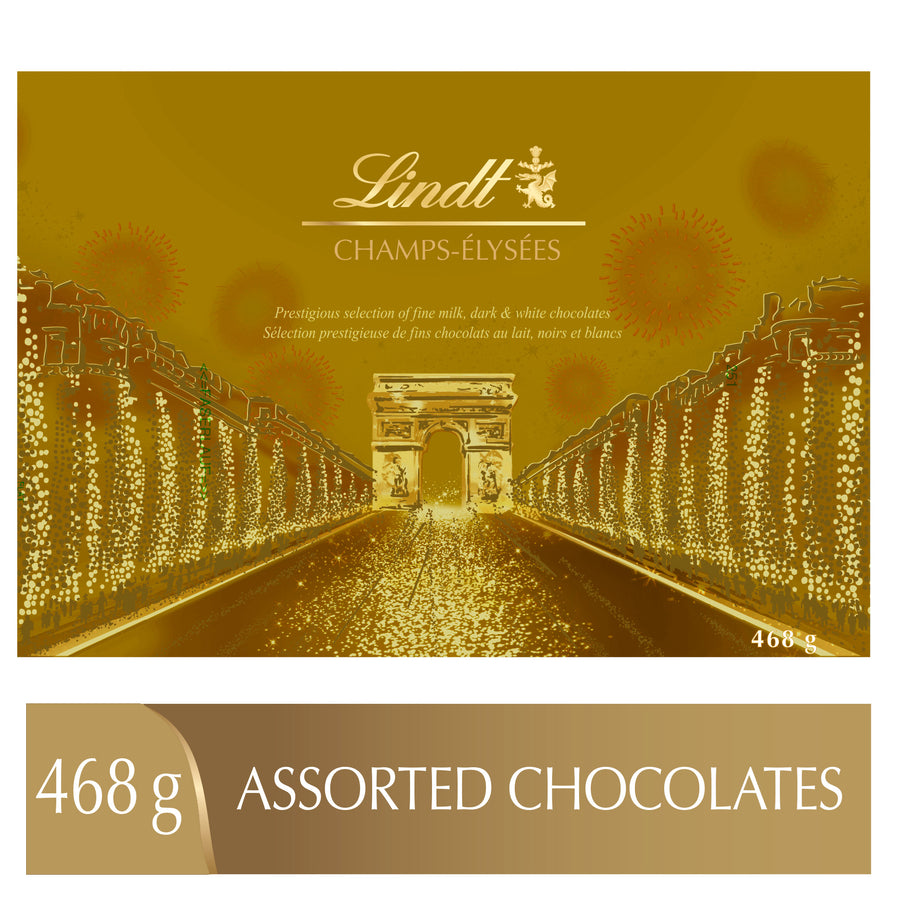 Lindt CHAMPS-ÉLYSÉES Assorted Chocolates Box 468g