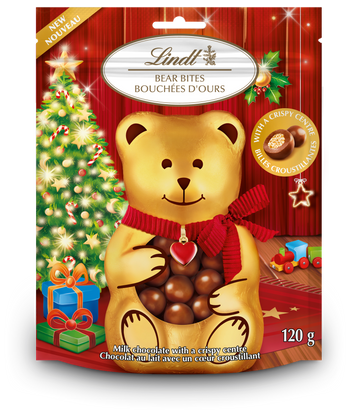 Lindt Milk Chocolate Bear Bites Bag 120g (Store Pick-up Only)