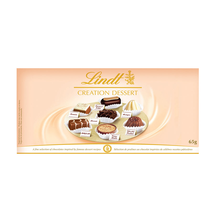 Lindt CREATION DESSERT Assorted Chocolate Box 65g