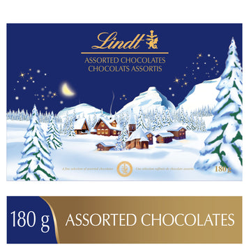 Lindt Assorted Chocolates Winter Wonderland Box 180g