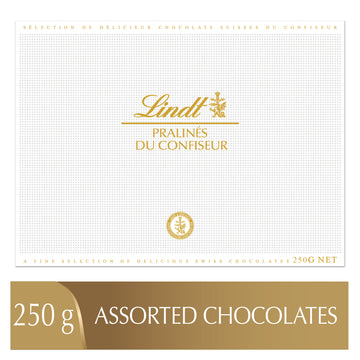 Lindt PRALINÉS DU CONFISEUR Assorted Chocolate Pralines Box 250g
