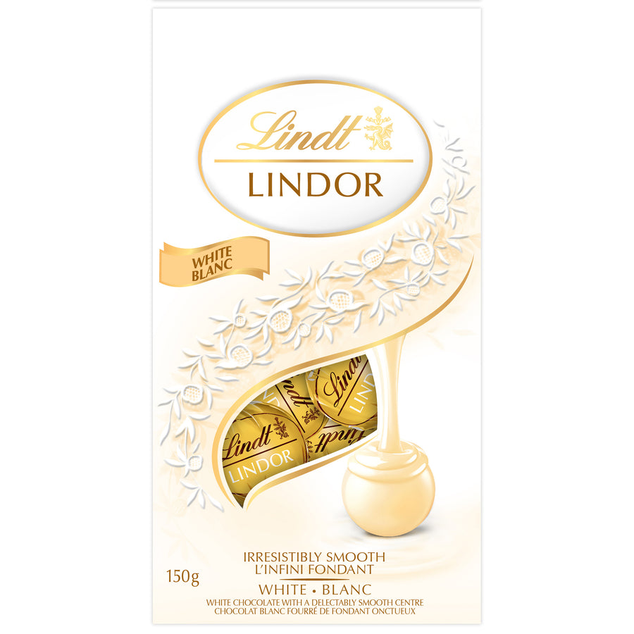 Lindor White Chocolate Truffles Bag, 150g