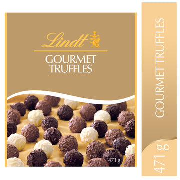 Lindt GOURMET TRUFFLES Assorted Chocolate Truffles Box 471g