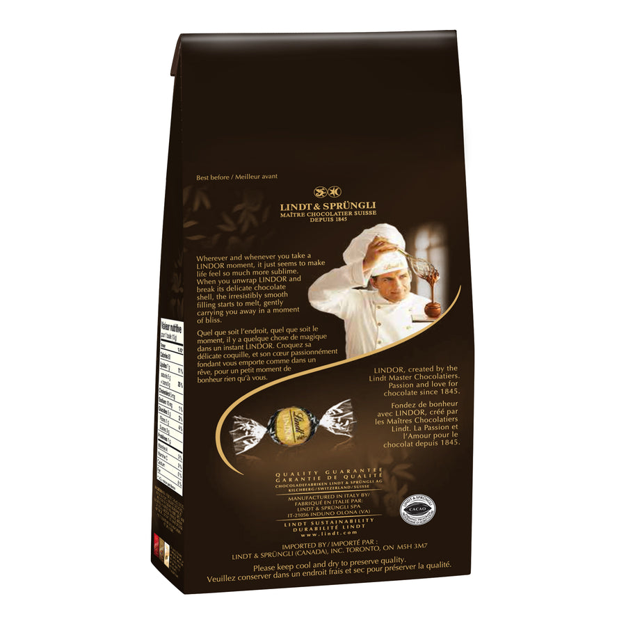 LINDOR 70% Cacao Dark Chocolate Truffles Bag, 150g