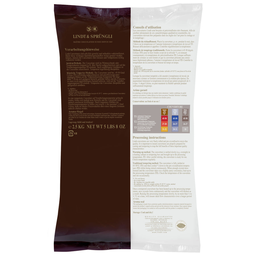 Lindt Piccoli Couverture Milk Bag 2.5kg