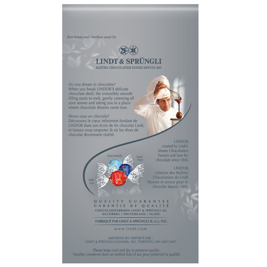 Lindt LINDOR Special Assorted Chocolate Truffles Bag 150g