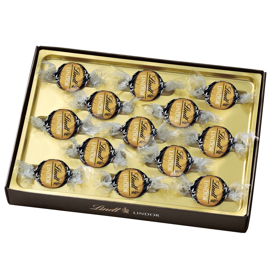 Lindt LINDOR 70% Cacao Dark Chocolate Truffles Box 156g