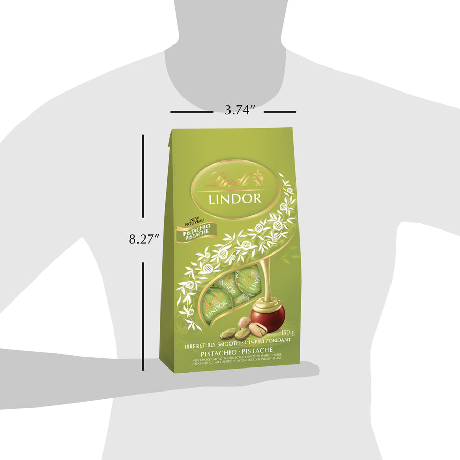 Lindt Lindor Pistachio Truffles Bag, 150g (Store Pick-Up Only)