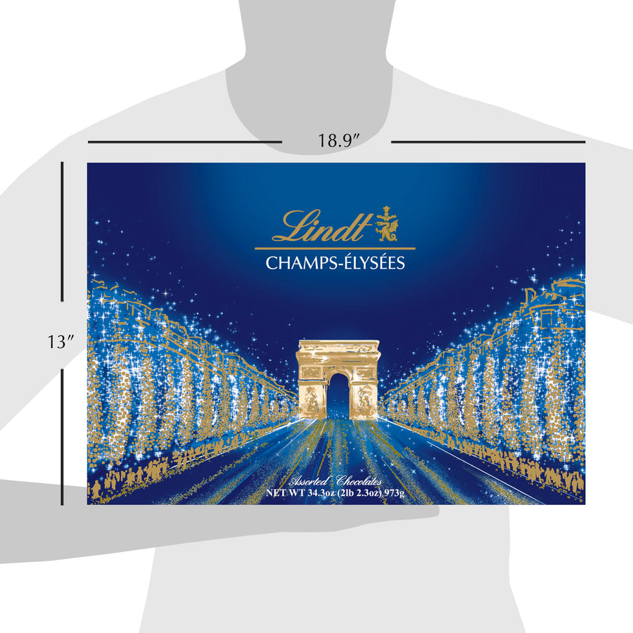 Lindt CHAMPS-ÉLYSÉES Assorted Chocolates Box 973g (Delivery Only)
