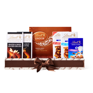 Lindt It's all about Nuts Assorted Chocolates Gift Box 756g (Delivery Only)