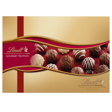 Lindt Gourmet Chocolate Truffles Gift Box 207g
