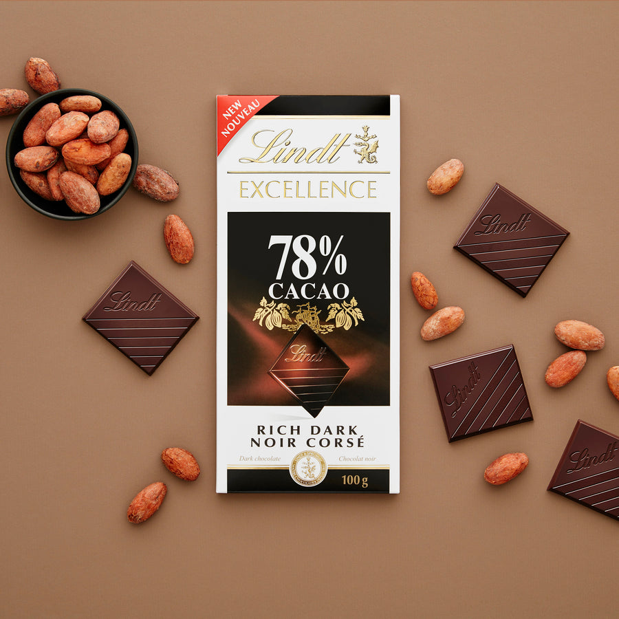 Lindt Excellence 78% Cacao Bar 100g