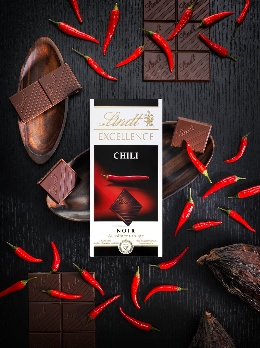 Lindt Excellence Chili Bar 100g