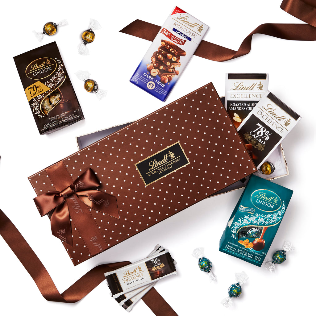 Lindt World of Dark Chocolate Gift Box 755g (Pre-Order & Delivery Only)